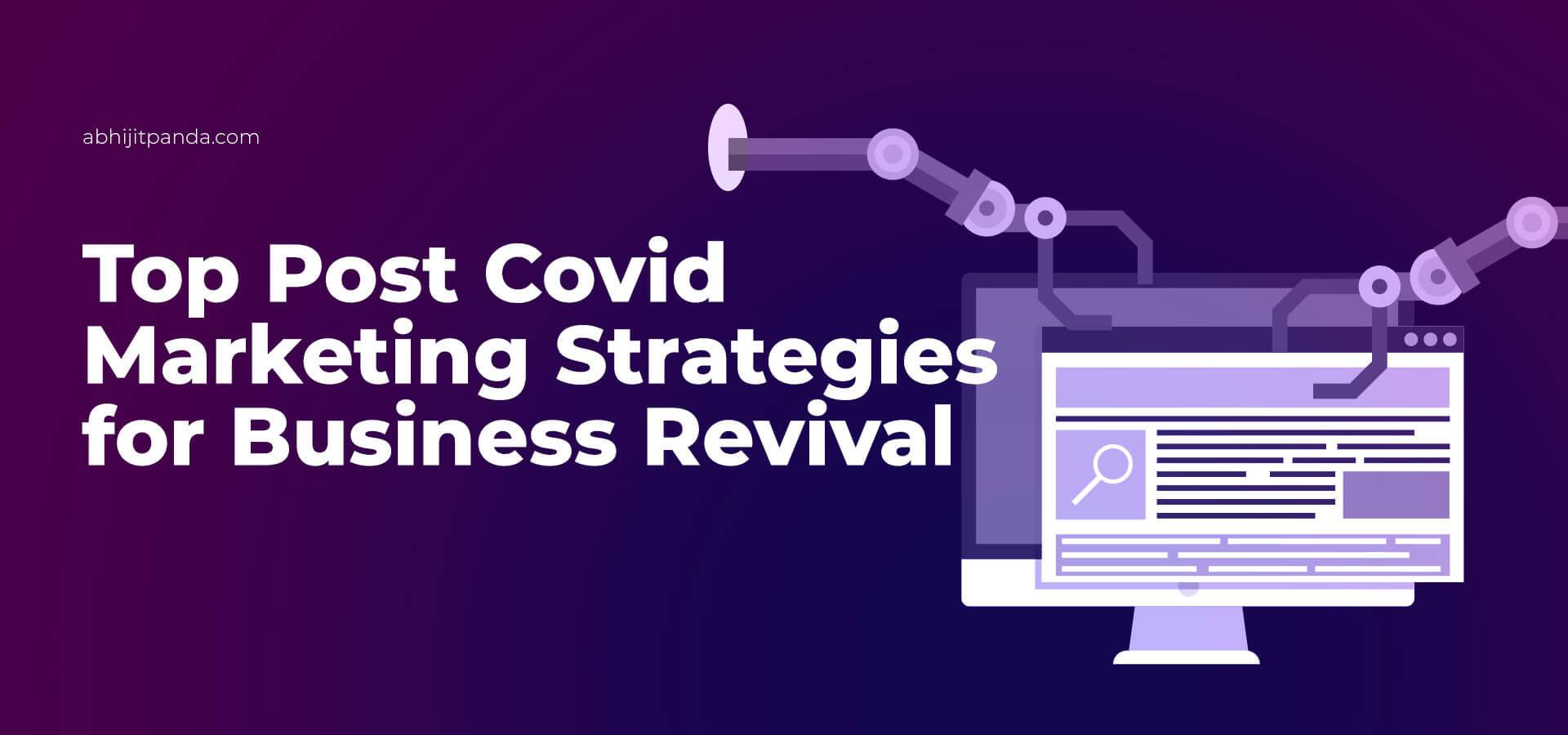 Post-COVID marketing strategies